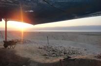Sunrise at Qumran